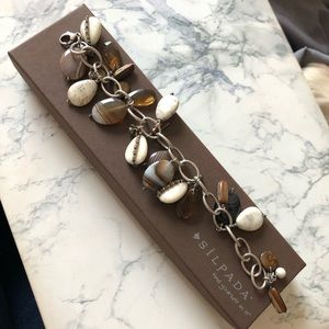 Silpada Multi Stone Adjustable Bracelet